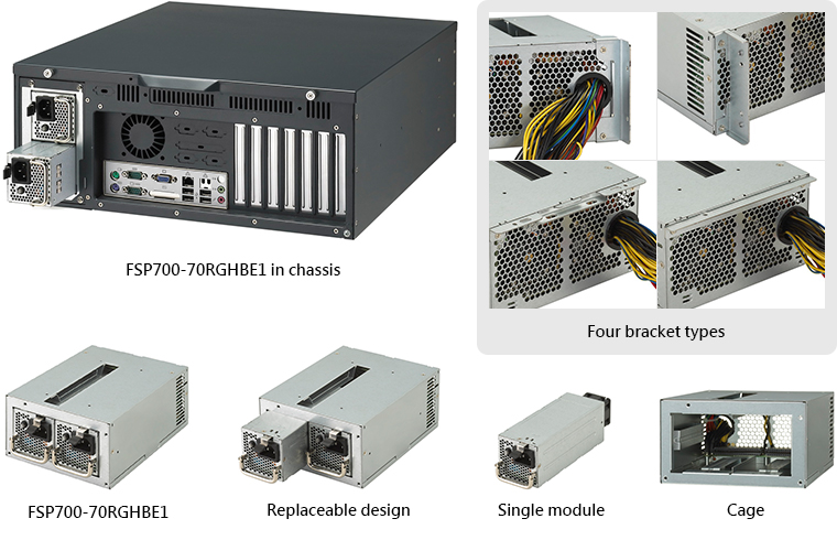 FSP Introduces 700W PS2 Redundant Power Supply with 80 Plus Gold ...